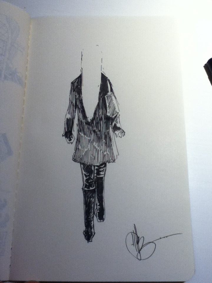 minute sketch